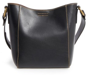 Frye Leather Bucket Bag - Black