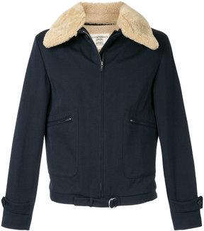 Kent & Curwen furry collar jacket