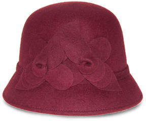 Nine West Women's Felt Flower Cloche Hat
