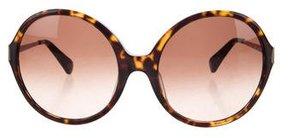 Diane von Furstenberg Lais Tortoiseshell Sunglasses