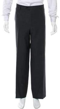Luciano Barbera Flat Front Woven Pants
