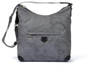 Alviero Martini Women's Grey Polyurethane Shoulder Bag.