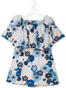 Chloé Kids floral shift dress
