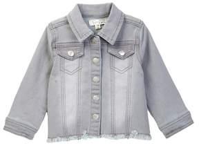 Jessica Simpson Stretch Denim Jacket (Baby Girls)