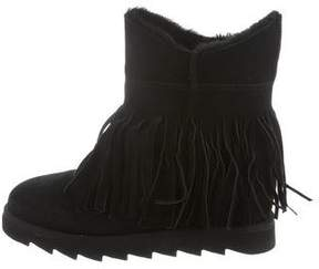 Ash Fringe Ankle Boots w/ Tags