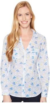 Columbia Sun Driftertm L/S Shirt Women's Long Sleeve Button Up