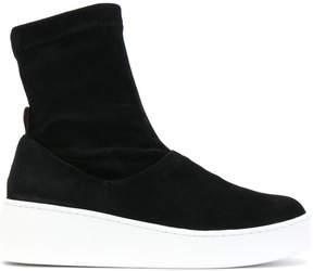 Robert Clergerie platform sole ankle boots