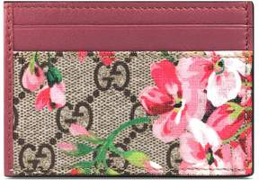 Gucci GG Blooms card case - GG SUPREME CANVAS BLOOMS - STYLE