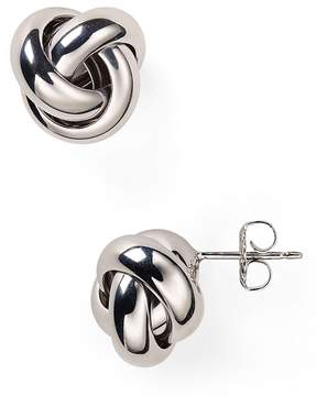 Bloomingdale's Sterling Silver Love Knot Stud Earrings - 100% Exclusive