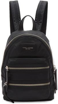 Marc Jacobs Black Mini Biker Backpack - BLACK - STYLE