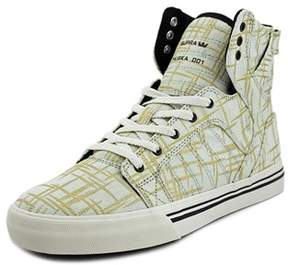Supra Skytop Round Toe Canvas Tennis Shoe.