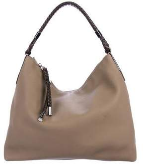 Michael Kors Pebbled Leather Hobo Bag