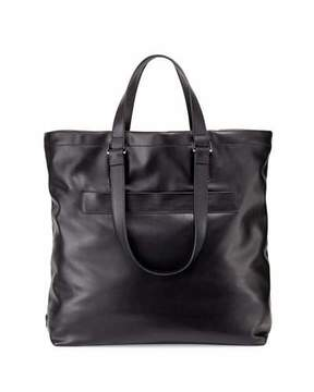 Prada Leather Tote Bag, Black