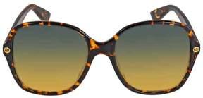Gucci Square Havana Sunglasses