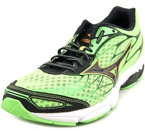 Mizuno Wave Catalyst Round Toe Synthetic Running Shoe.