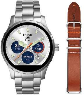 Fossil Men's Q Limited Edition Q X Cory Richards Smart Interchangeable Strap Watch, 45mm
