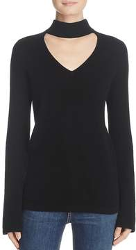 Aqua Cashmere Cutout Bell Sleeve Sweater - 100% Exclusive