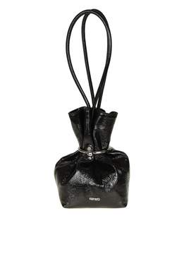 Kenzo gyoza Purse Bag In Black Leather
