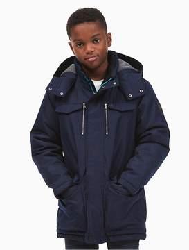 Calvin Klein Jeans Boys Ripstop Poly Parka Jacket