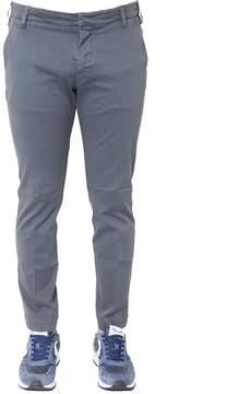 Entre Amis Slim Fit Cotton Trousers