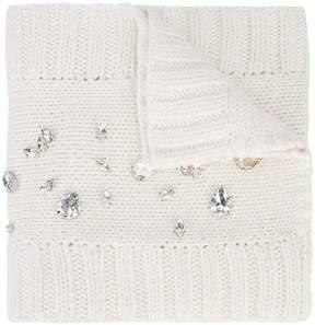 Thomas Wylde Roadhouse crystal-embellished scarf