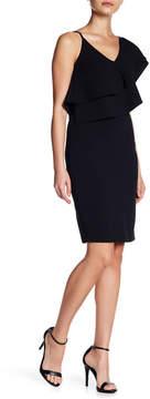 Bebe Asymmetrical One Shoulder Dress
