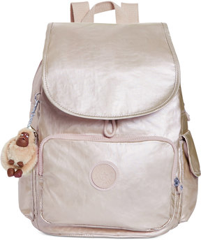 Kipling Ravier Backpack - SPARKLY GOLD - STYLE