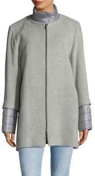 Cinzia Rocca Zip Crewneck Jacket