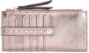 INC International Concepts I.n.c. Glam Metallic Printed Card Case, Created for Macy's