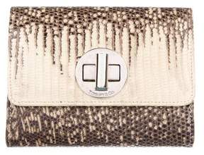 Tiffany & Co. Lizard Bifold Cardholder