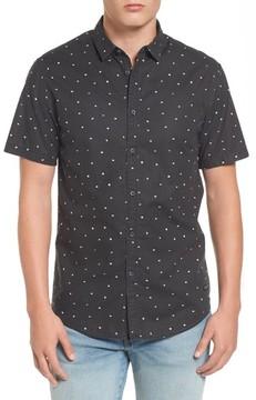 Billabong Men's X Warhol Print Woven Cotton Shirt