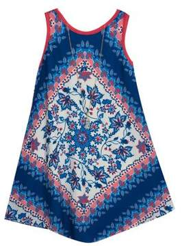 Rare Editions Little Girl's Printed Shift Dress