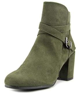 Madden-Girl Rightonn Women Round Toe Synthetic Green Ankle Boot.