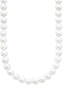 Belle de Mer Pearl Necklace, 18 14k Gold A+ Akoya Cultured Pearl Strand (6-1/2-7mm)