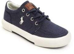 Ralph Lauren Kid's Faxon II Lace-Up Sneakers