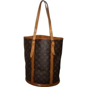 Louis Vuitton Bucket cloth handbag - BROWN - STYLE