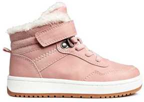 H&M Pile-lined High Tops