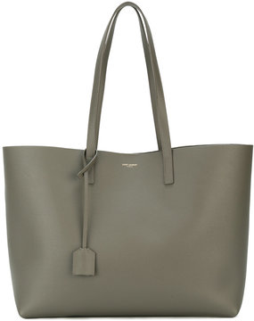 Saint Laurent large shopper tote - GREEN - STYLE