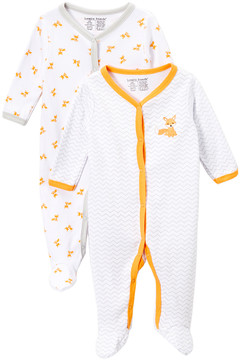 Luvable Friends Fox Footie Set - Newborn & Infant