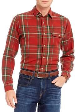Daniel Cremieux Plaid Long-Sleeve Woven Shirt