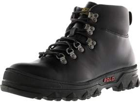 Polo Ralph Lauren Men's Hainsworth Black / High-Top Leather Boot - 9.5M