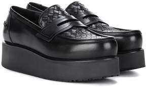 Bottega Veneta Plateau leather loafers