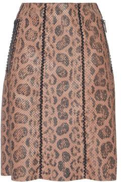 Bottega Veneta Soft Anaconda Skirt