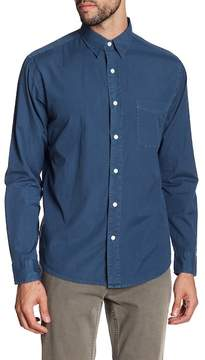 Faherty BRAND Ventura Solid Trim Fit Sport Shirt