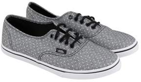 Vans Authentic Lo Pro Black Mens Lace Up Sneakers