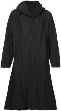 Julius long-length hooded coat