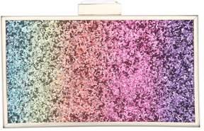 Nina Rainbow Glitter Minaudiere