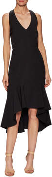 Ava & Aiden Women's Halterneck Flounce Dress