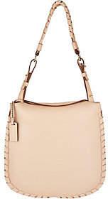 PLINIO VISONA' As Is Plinio Visona Italian Leather Shoulder Bag