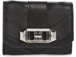Rebecca Minkoff Women's Love Lock Leather Wallet - Black - BLACK - STYLE